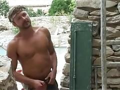French Guy Fuck Hot Arab Outside