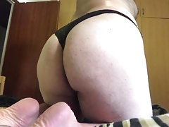 Sissy bubble fat ass after shower