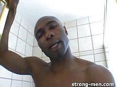 Ebony Thug Whacking Off Big Rod