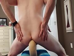 Huge dildo penis pump