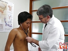 Raunchy Daddy Mike has fun with hot Asian boy toy Russel