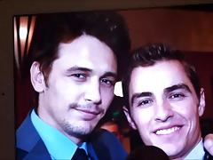 Dave and James Franco Double Cum Tribute