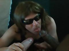 Sissy Cockwhore Jizz On Glasses