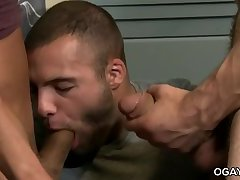 Mario and Tommy sharing a guy