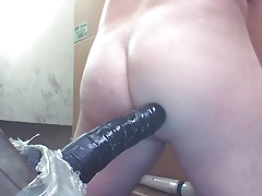 JoeyD wet dripping cute BUTT horny for Black Cock