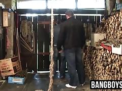 Hunk farm dudes barn gay fuck