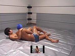 WrestleFactory-OilWrestling