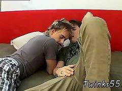 Sexy cute boys enjoy each other