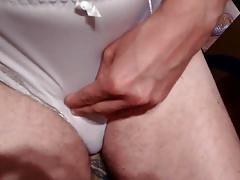 Another cum in wife panties