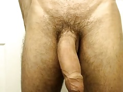 THICK HEAVY UNCUT LATIN MEAT - JUST A SAMPLE - NO CUMSHOT