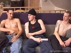 Timmy, Aaron and Ryan Sucking Dick