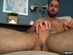 Latin gay rimjob and cumshot