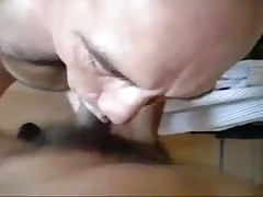 Nice sucking from Daddy