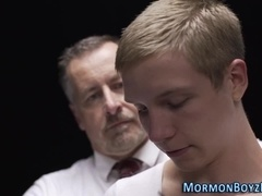 Bishop spanks mormons ass