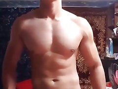 very cute asian stud show on cam (3'13'')