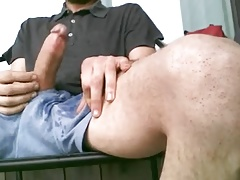 Shorts piss and cum.mp4