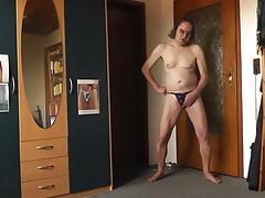 stripper stringtanga lilac
