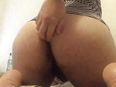 Sissy fat ass bubble ass femboy