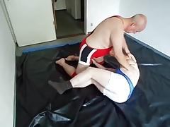 Erotic gay wrestling - 2