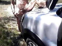 Spanish Twink It's Very Hot Outside The Car