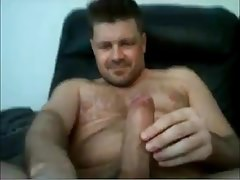 Hot UK Str8 Daddy with Big Cock Takes a Nut Shot #58