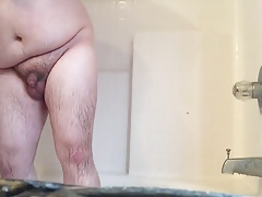 Not Me - Vol.15 - chub plays with cute lil uncut in shower