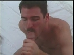 A gay gets his ass fingered and fucked from behind by his masked BF