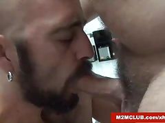 Hairy Daddy fucking a dude