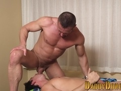 Ripped stepdad throated
