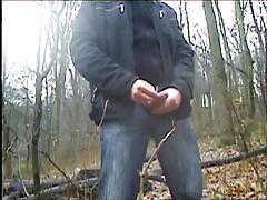 masturbate in the forest