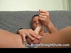 Broke straight guy goes gay for money
