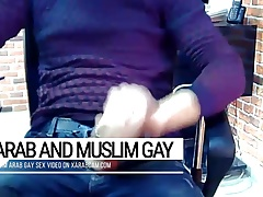 ALI , ARAB GAY FOR A SEX CONF CALL AT WORK