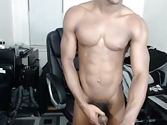Cam show big black dick