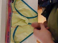 Big nice cum on underwear