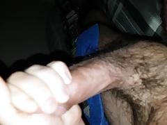 Hairy arab guy cumming