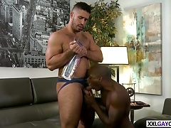 INTERRACIAL STUDS ASS PLAY