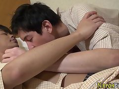 Suck asian blow and cum