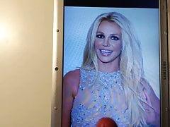 Britney Spears Cum Tribute 69