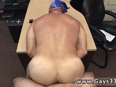 Male straight tube gay porno Some tough looking biker man came into the Pawn Shop today
