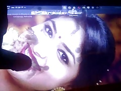 Keerthy Suresh hot  spit cum tribute