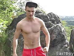 Handjob Casting and Muscle Worship