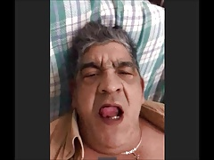 spanish grandpa wank and cum