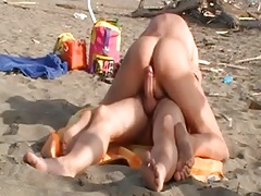 gay fuck on the beach