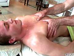 Deep rectal penetrating massage