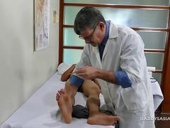 Dr Daddy Bareback Fucks Asian Boy Robin