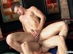 Ivo and Samuel fuck in cowboy pose after sucking each other's cocks