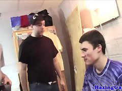 College frat hazes students with gloryhole
