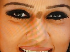 Nayanthara cummed on her cute face