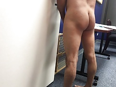 Bottom boy bb fuck at the office part 2