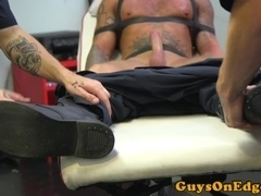 Dominated stud edged while gagged